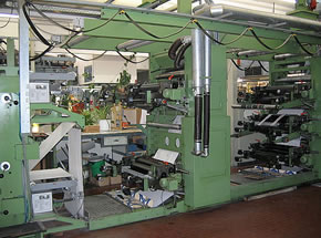 Flexo Printing Machine FISCHER & KRECKE 13DF