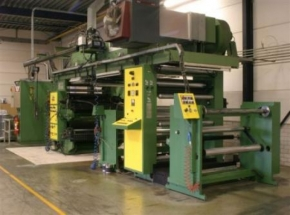 Flexo Press FLEXOTECNICA  804 CR, 4-Color CI