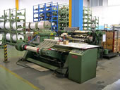 Used Slitter Rewinder KAMPF for Films and Aluminum