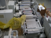 Used Flexo stack printing machine BHS 650 - 5 colour