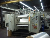 Used 9 colour flexo printing machine BHS F-1000 GEARLESS