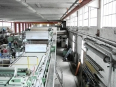 Used VOITH complete paper production plant, width 1940 mm