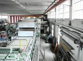 VOITH complete paper production plant, width 1940 mm
