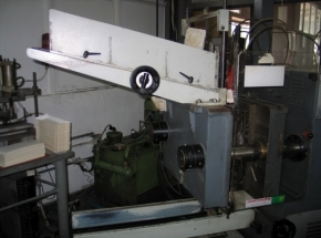 Paper plate making machine RABOLINI DUPLIMATIC