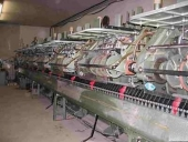 Used Gatherer stitcher Mueller Martini with 8 units