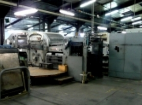 BOBST SP 1260 E AUTOMATIC DIE CUTTER