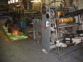 Flexo printing machine for cardboard DCM IM2, 5 colour