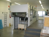 Used Automatic die cutter with double action stripper HEIDELBERG DYMATRIX 105 CS,
