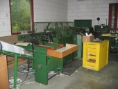 Used Saddle stitcher BREHMER 735