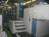 Used Offset printing machine KBA RAPIDA 162