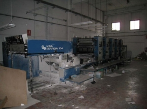 Offset printing machine KBA RAPIDA 104-5