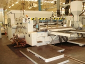 Used GENCO WARD Rotative diecutter with 2 flexo printing units