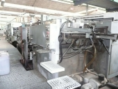 Used Flexoprinter and Die cutter automat BOBST