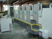 Used Offset printing machine MAN ROLAND, 4 colour