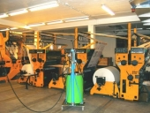 Used Newspaper printing machine KBA ALBERT FRANKENTHAL