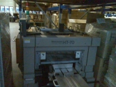 Used Thrre knifes trimmer HORIZON HT-70