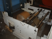 Used Automat CORELESS-rewinder Bragernes+ Packing machine for rolls LEMU
