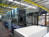 Used KBA 6 colour offset press, model Rapida 142-6+L BOARDMACHINE