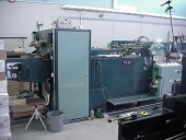 Used KAMA TS 96-1 DIE CUTTER with foiling unit for HOTFOILSTAMPING