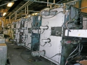 Used MAN Roland, model ROTOMAN C WEB OFFSET PRESS,  Image size: 965mm x 630mm