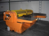 Used Manual Slitter - Scorer S&S, working width 2400 mm