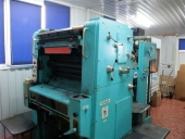 Used Planeta PO2  - offset printer, 1 solour, size 52x72 cm