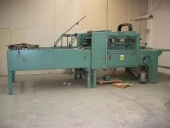 Used Folder Gluing Machine ESCOMAT PLANET with Nordson unit