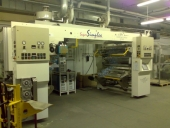 Used Duplex Laminating Machine  for Solventless adhesives NORDMECCANICA SUPERSIMPLEX
