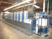 Used KBA RAPIDA 74-8 SW4 PWHA 8 colour offset printing machine