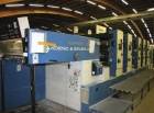 KBA 5 colour offset printing machine with perfector RAPIDA 104-5  3/2