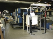 Used KBA 2 colour-offset printing machine with perfector RAPIDA 104-2