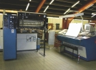 KBA 2 colour-offset printing machine with perfector RAPIDA 104-2