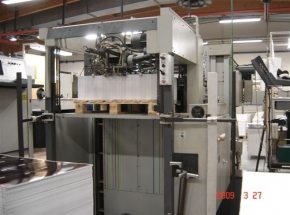 Hot Foil Stamping or Embossing Press BOBST BMA 102