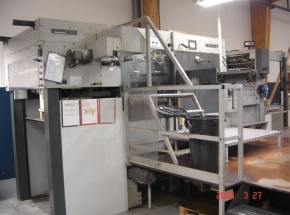 Hot Foil Stamping Press BOBST BMA SP102
