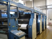 Used Newspaper printing machine KBA COMPACTA 213, Roll to roll / WEB