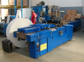 Napkins packing machine SENNING 522SE/P -SOLD