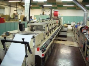 Label printing machine MARK ANDY 4200 FLEXO, 6 colour