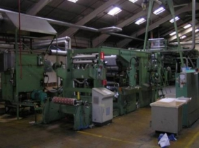 Laminating and Coating machine KROENERT Pak 600, year 1972