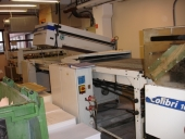 Used High speed UV varnishing machine STEINEMANN COLIBRI 102