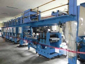 Used Automatic Milk Pack printing & die cutting machine