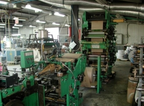 Flat and Satchel Paper Bag Machine HOLWEG CP2 -TS