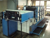Used 4 colour offset printing machine KBA Rapida 104-4