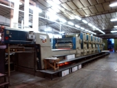 Used Offset printer Planeta Varimat VL 77 VC VD ALV  6+L