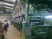 Used 9 colour Rotogravure Presses SCHIAVI ROTOJET POLYPRINT