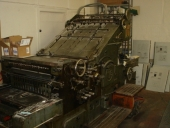 Used JOHANNISBERG Cylinder Press, size: 73×104 cm