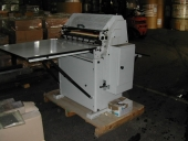 Used 1 colour flexo press MECEM IM 76 incl. Prepress POLIMERO PHOTOPOLYMERE