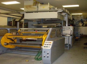 6 colour flexo CI printer SCHIAVI SIRIO - 6