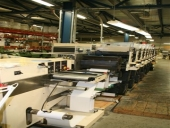 Used Label printing machine NILPETER LF 3000, 8 colour (UV)