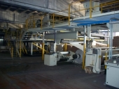 Used Corrugated board producing line OLIVINI L080