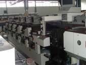 Used Letterpress NILPETER B 280 Label printer, 5+1 colour